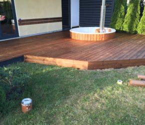 Männipuust terrassi hooldusõlitamine