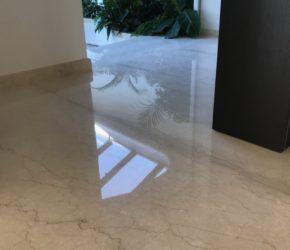 Marmorpõranda poleeri taastamine, impregneerimine