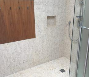 Vannitoa kivipindade puhastus ja impregneerimine