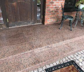 Graniidist treppi süvapesu ja impregneerimine