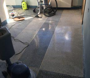 Terrazzo põrandapindade taastamine