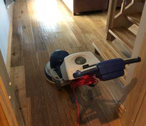 Puitpõranda süvapesu ja hooldusõlitamine