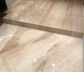 Vannitoa põranda teemantlihvimine ja impregneerimine