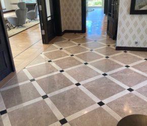 Marmorpõranda taastamine / teemantlihvimine ja impregneerimine